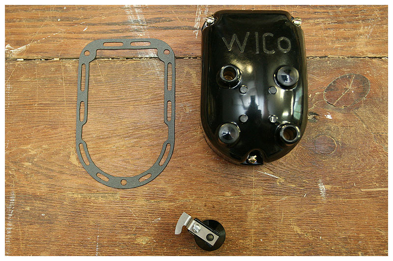 antique speed machine wico magnetos for harley davidson xv1922 cap